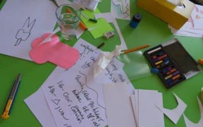 Entwicklung von Stories während des Unterrichts