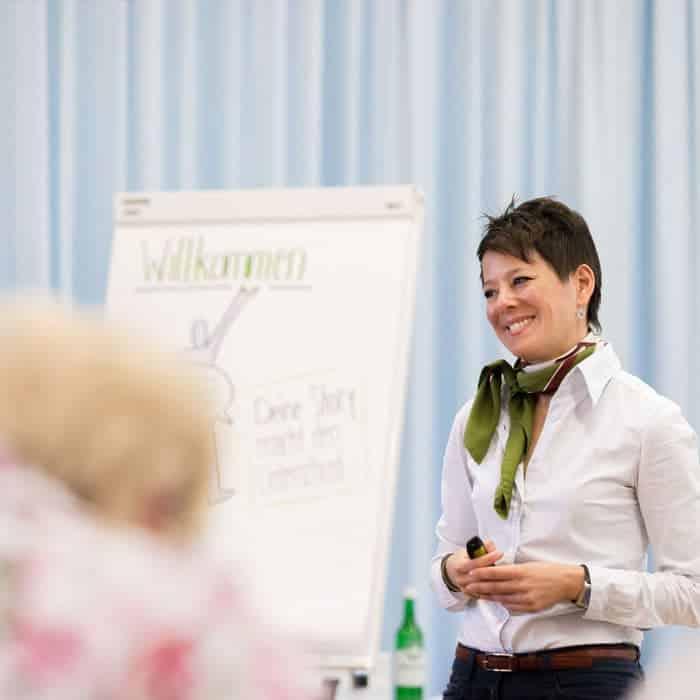 Workshop mit Ancilla Schmidhauser für KMU
