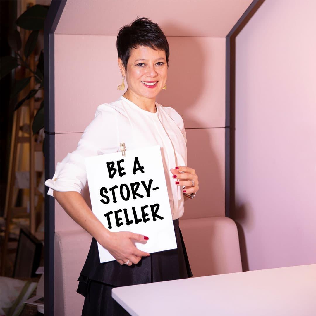 be a Storyteller with Ancilla Schmidhauser