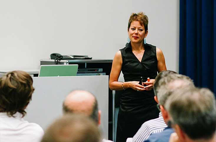 Aufbau Business Storytelling mit Ancilla Schmidhauser